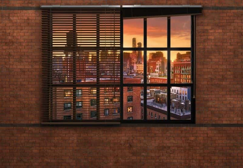 Фотообои Komar Brooklyn Brick 8-882