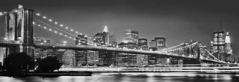 Фотообои Komar XXL2-320 Brooklyn Bridge