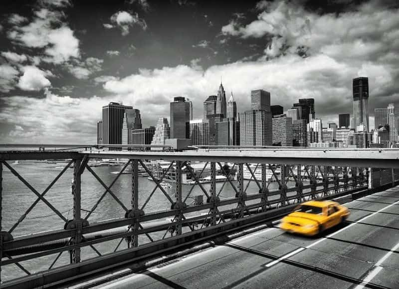 Фотообои Komar 4-929 Taxi to Brooklyn